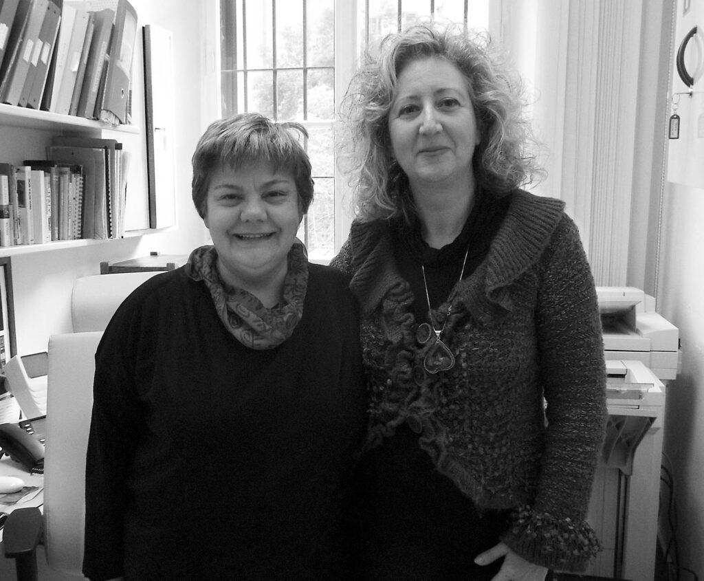 Letizia Buono and Luisa Boncompagni