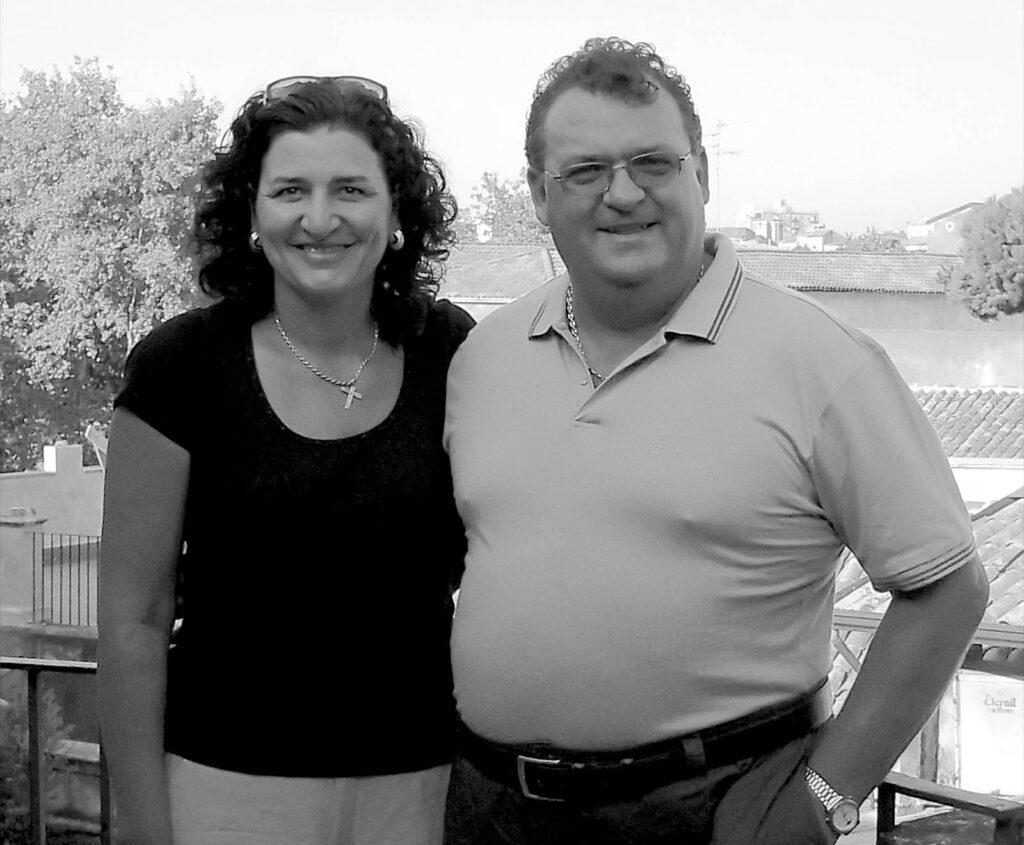 Francesco Sgariglia and Pina Vallefuoco