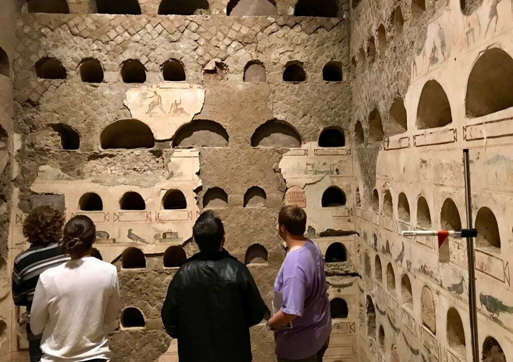 The complexity of individual Roman experiences shines through in a columbarium